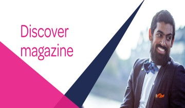 Discover Magazine: August - September 2019 image