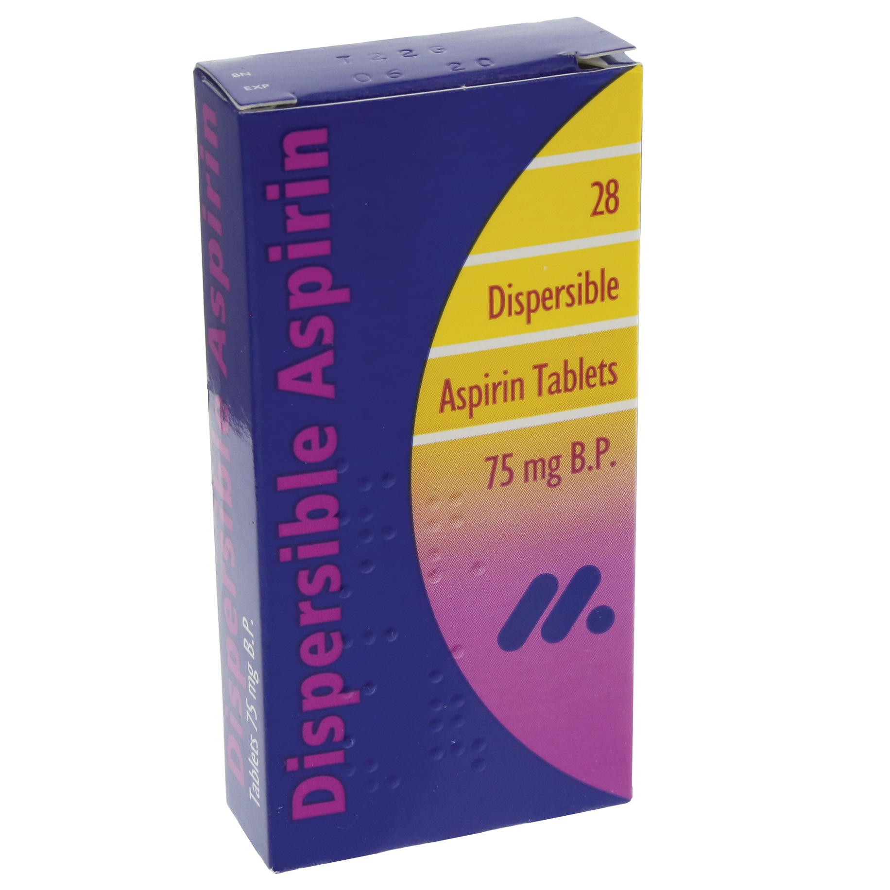 Aspirin Tablets Dispersable 75mg