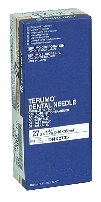 Needles Plastic Hub 27GL - Yellow Box 100