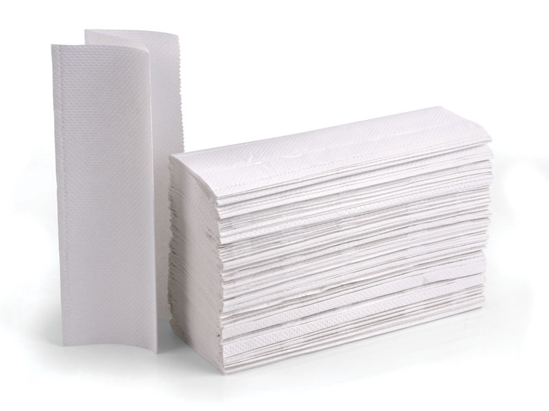 Z-Fold Hand Towel 2 ply, White