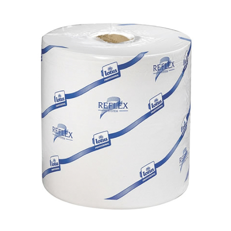 Reflex Wiping Paper Plus - 2 ply, White (473264)