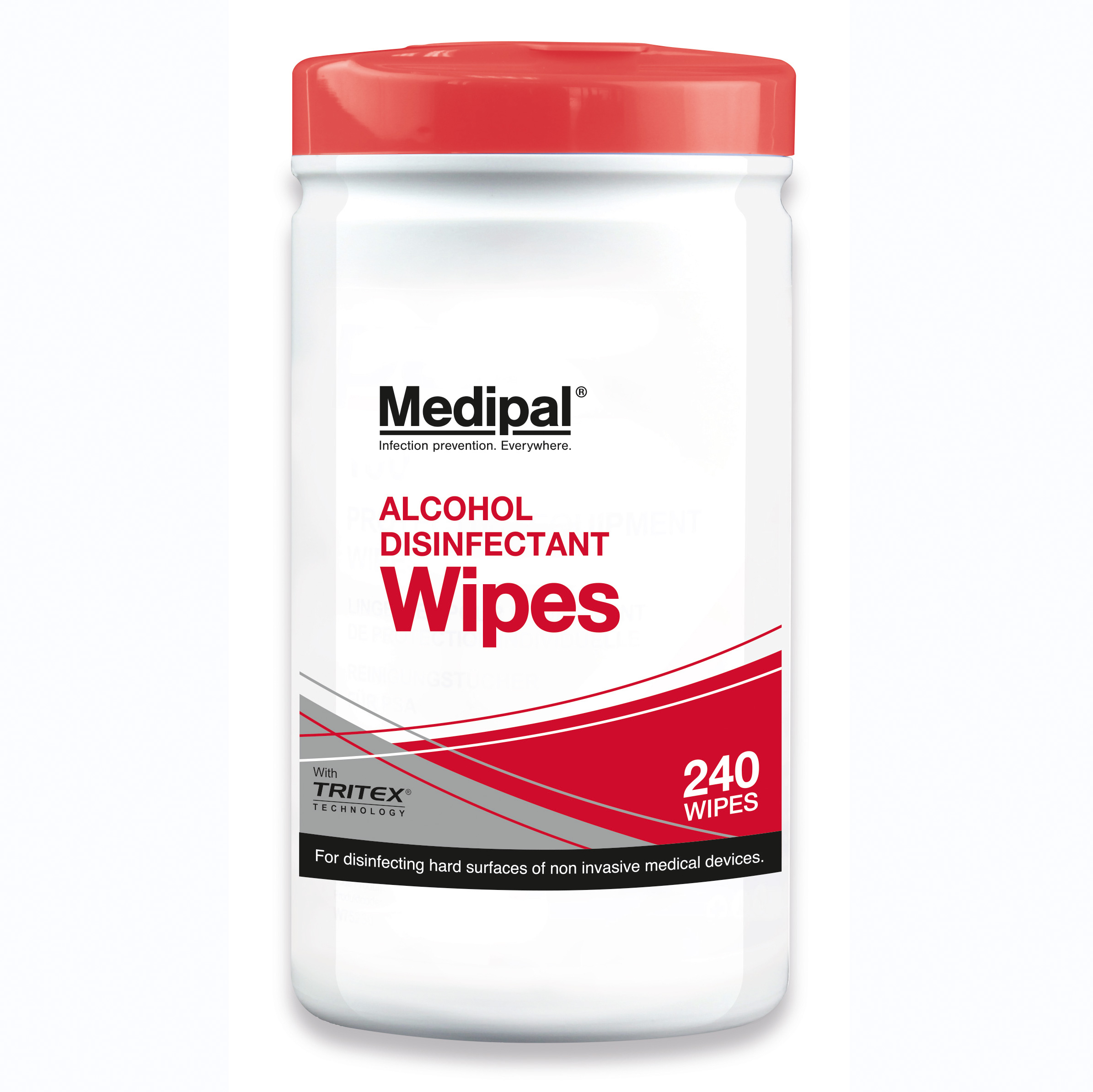 Medipal Alcohol Wipes 70% IPA Pack 240