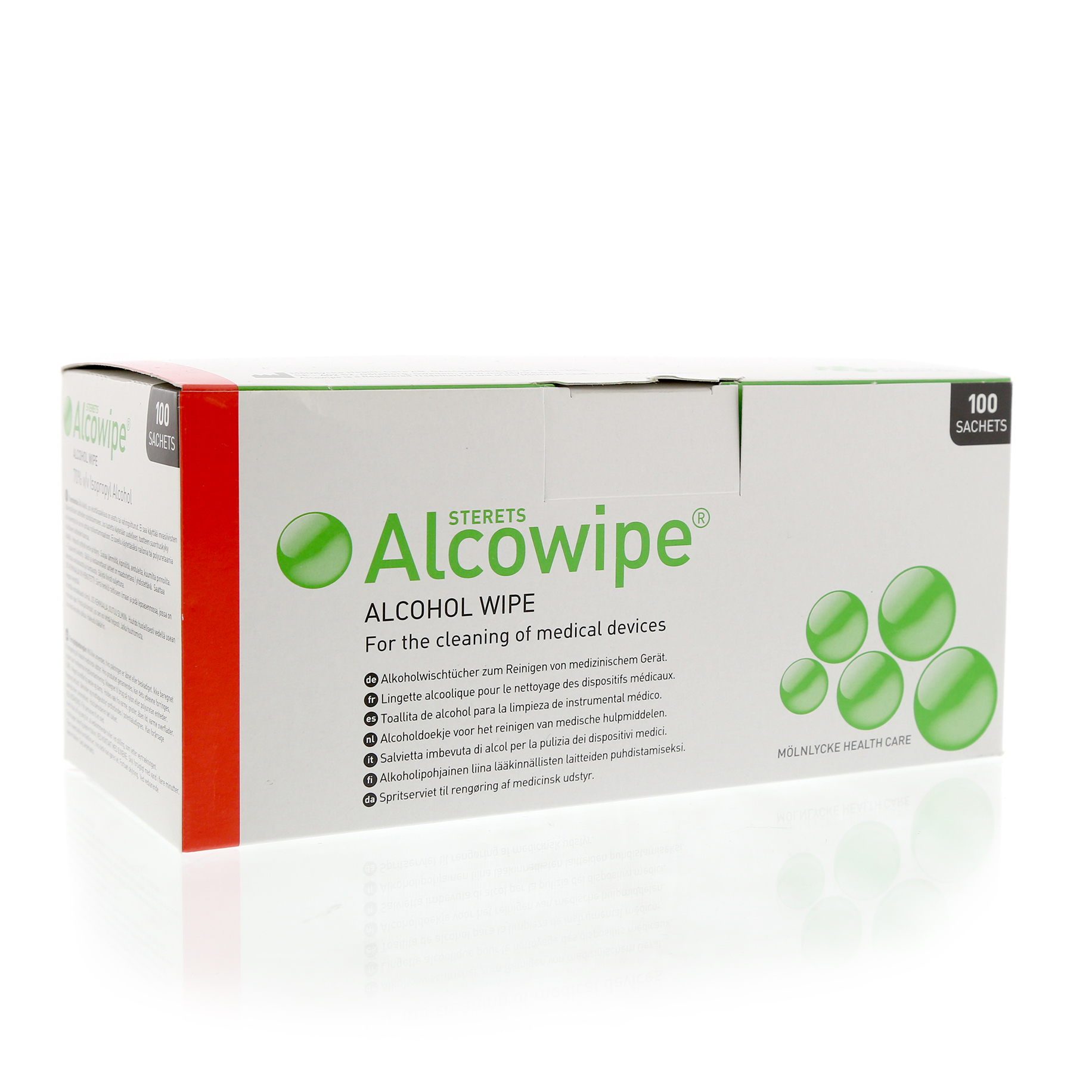 Sterets Alcowipe Pack 100