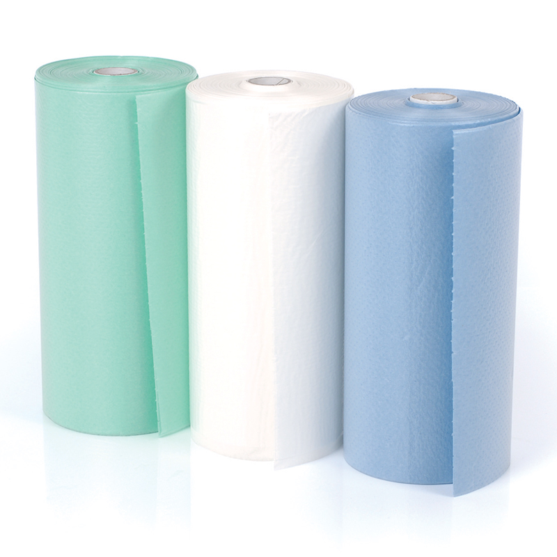 Disposable 2ply Bibs - Green (80) Roll