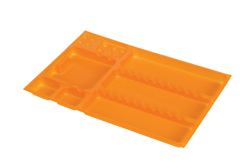 DispoTray Liners 290 x 190mm Orange