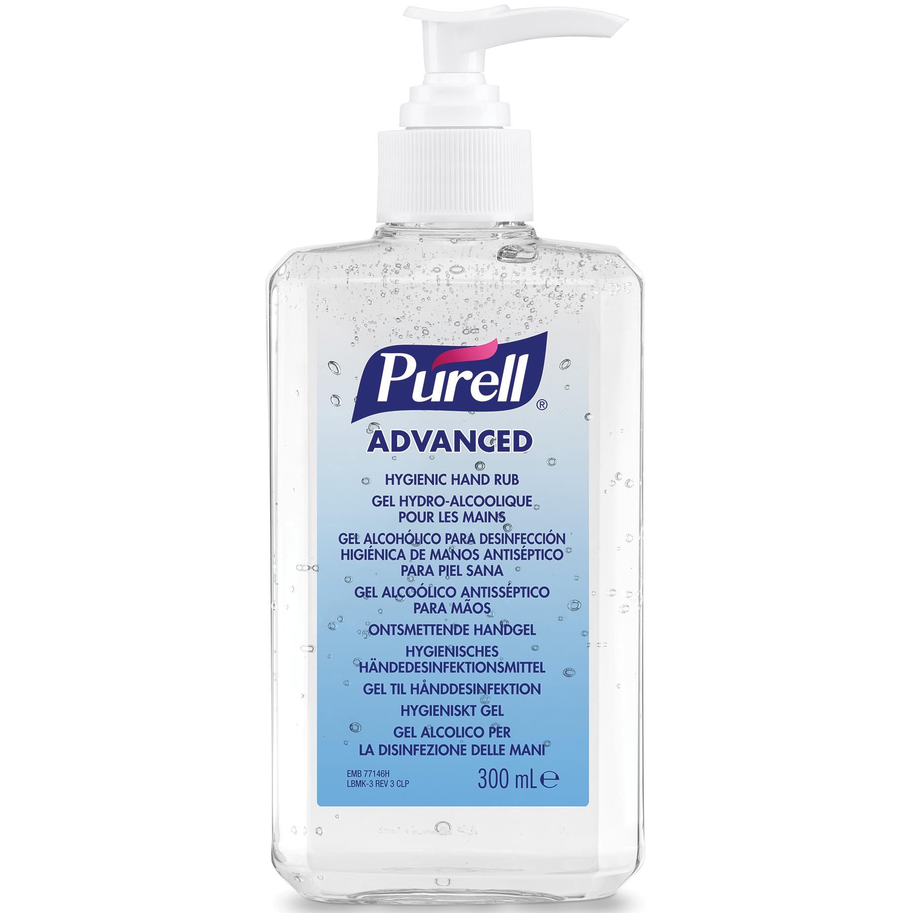 Purell Hand Rub Pump Bottle 300ml