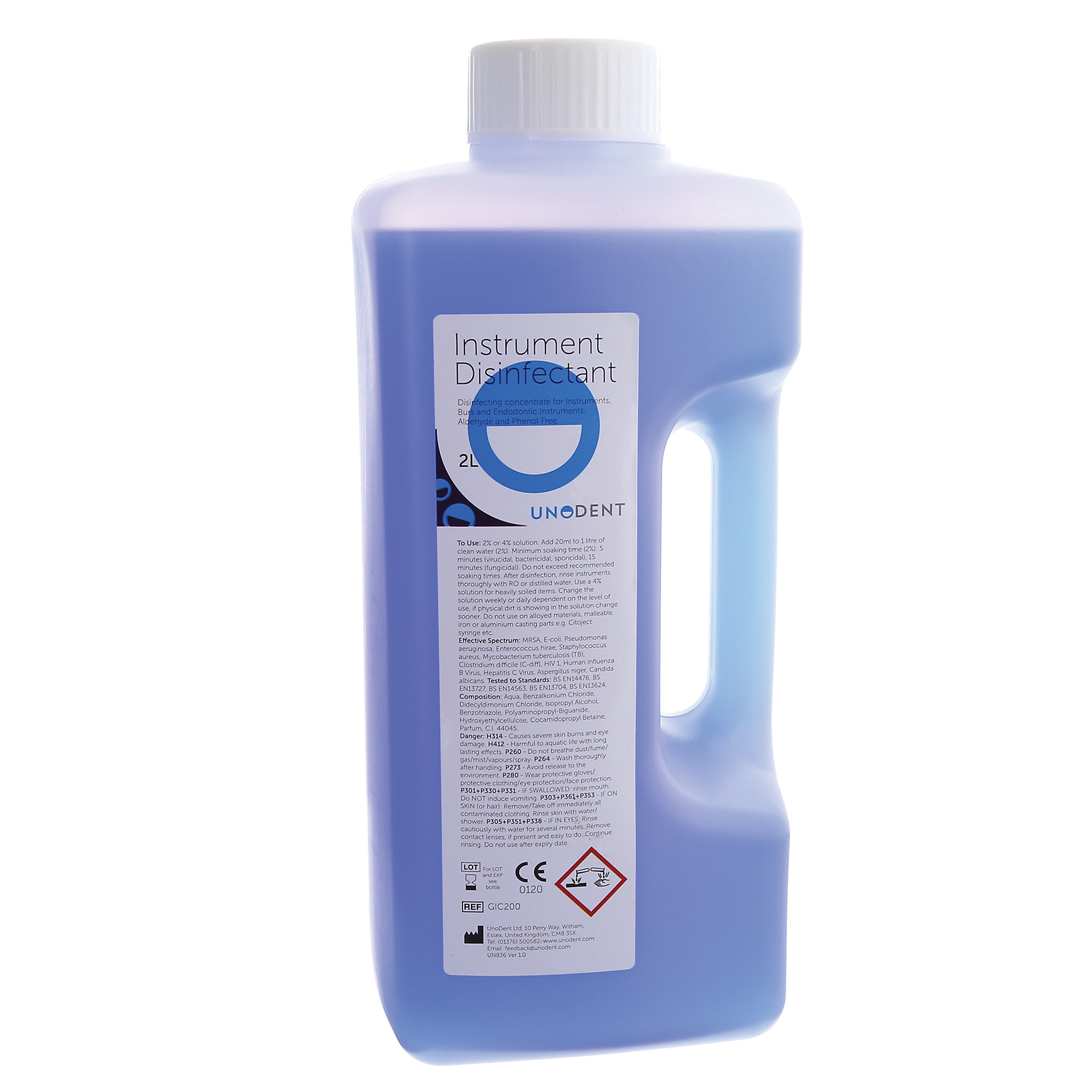 Instrument Cleanser/Disinfectant Concentrate