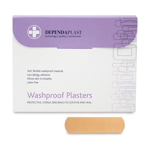 Waterproof Plasters 7cm x 2cm Pack 100