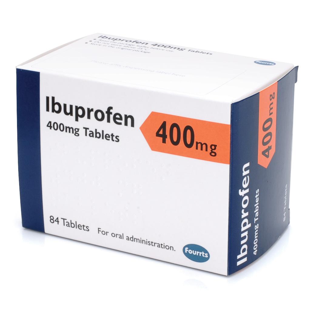 Ibuprofen Tablets 400mg  Pack 84