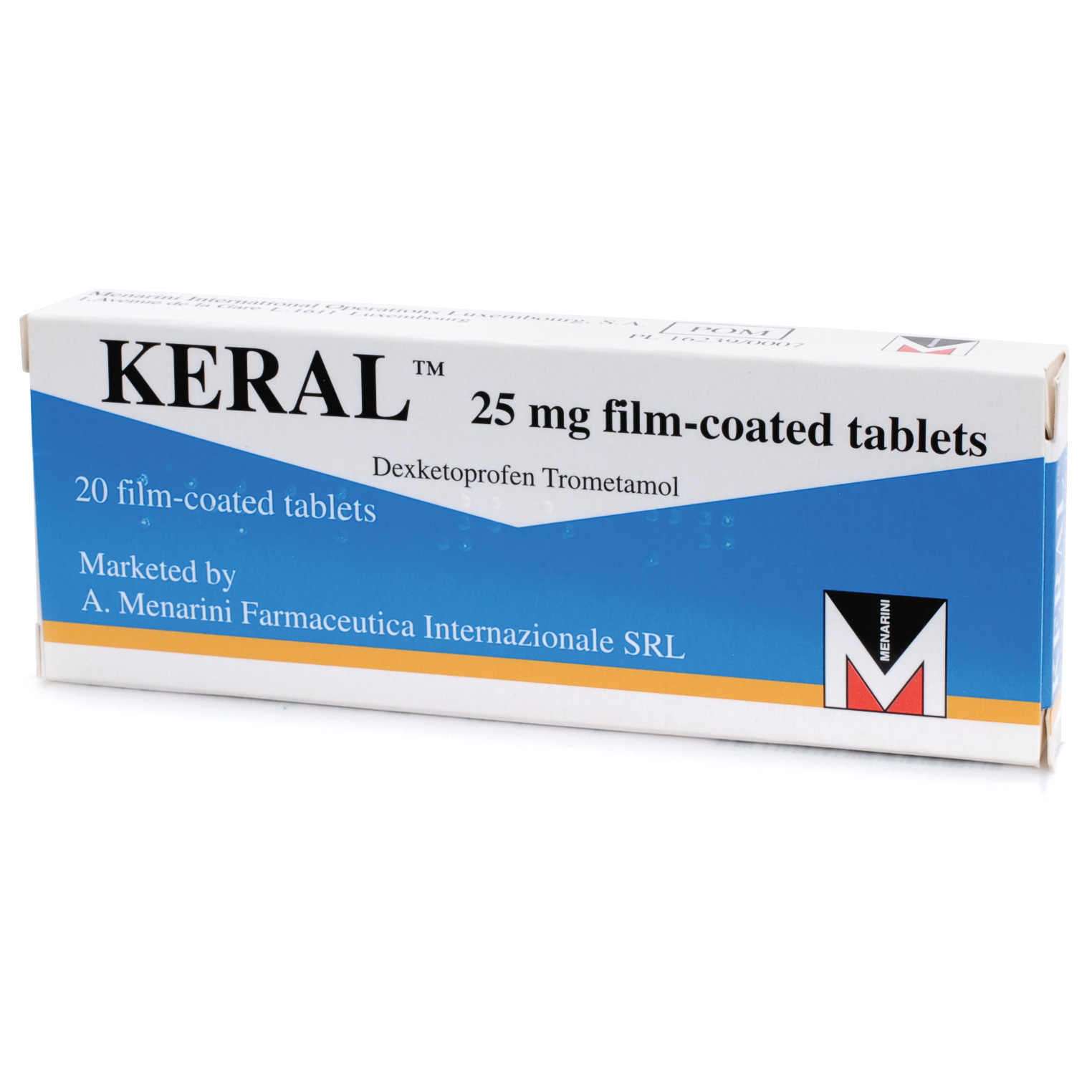 Keral Tablets 25mg