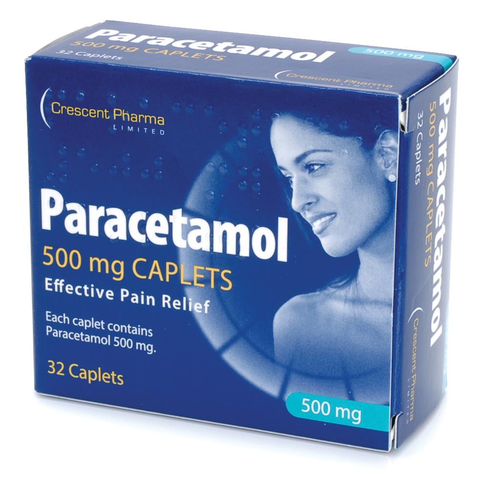 Paracetamol Tablets 500mg  Pack 32
