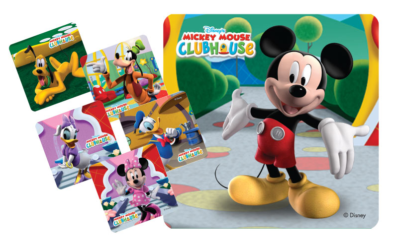 Stickers - Mickey Mouse and Friends Clubhouse.