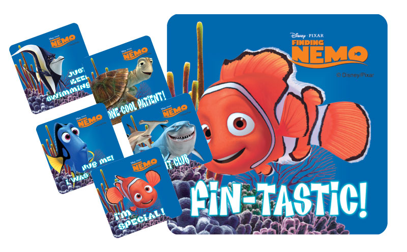 Stickers - Finding Nemo and Friends.