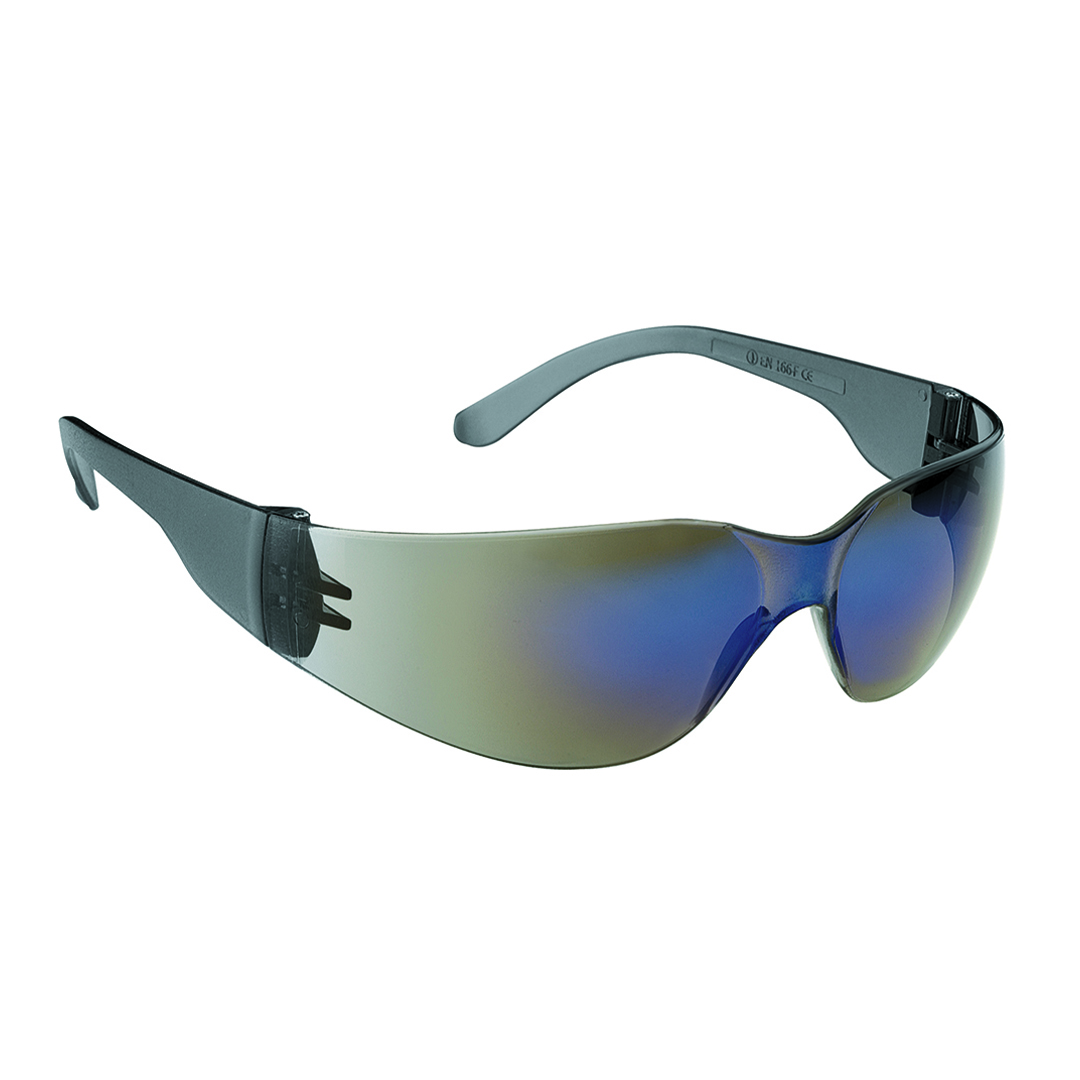 Stealth 7000 Safety Glasses Red Mirror Lens