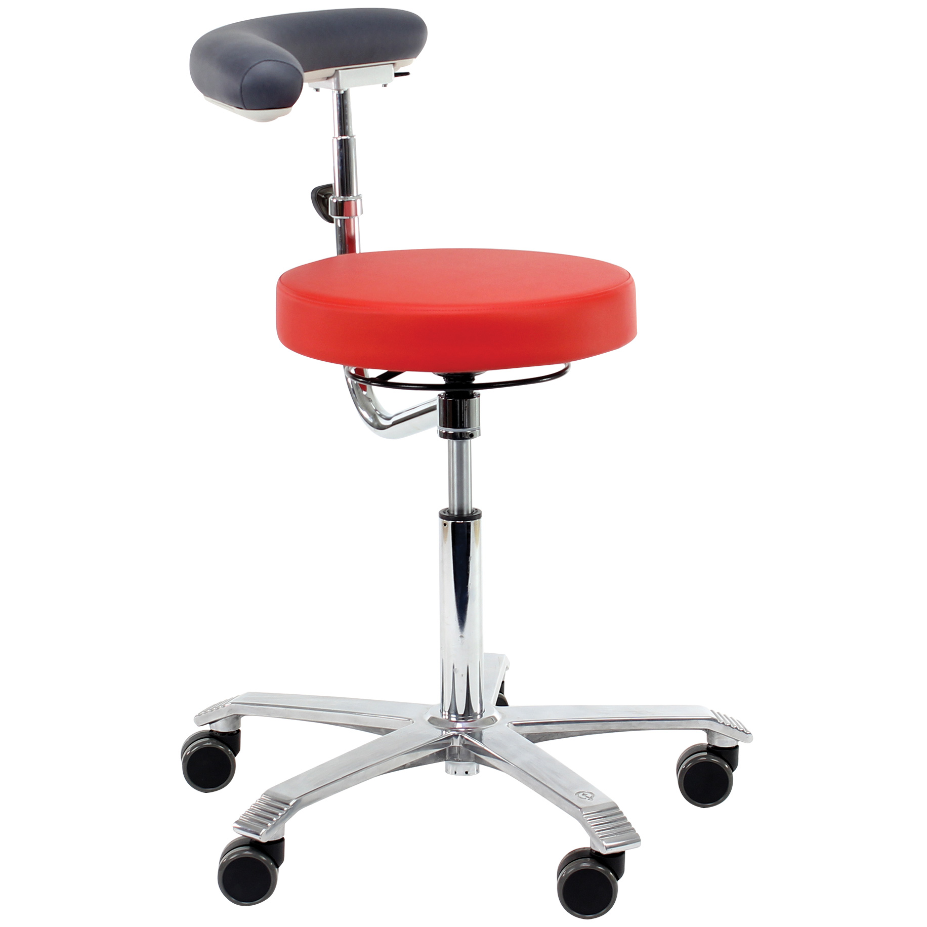 Nurse Stool 6260 With Footring