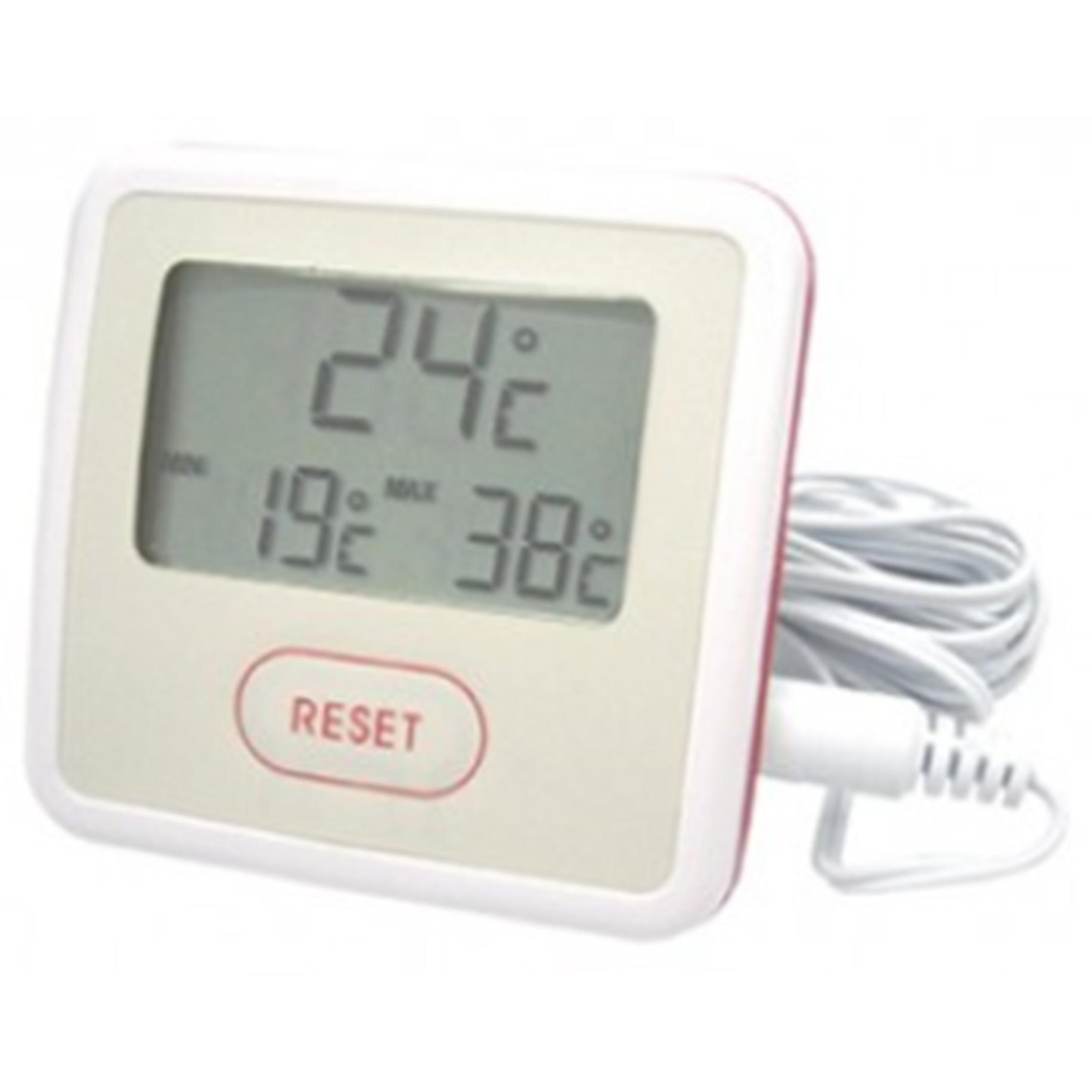 Hawco LCD Thermometer no alarm