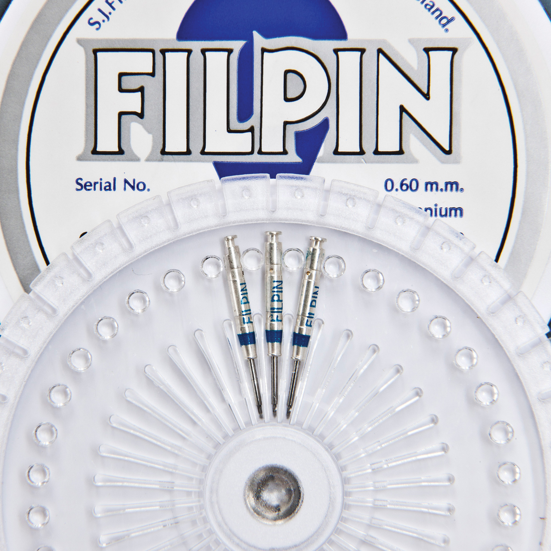 Stainless Steel Precision Drills - Filpin Drills Blue 0.60mm - Small