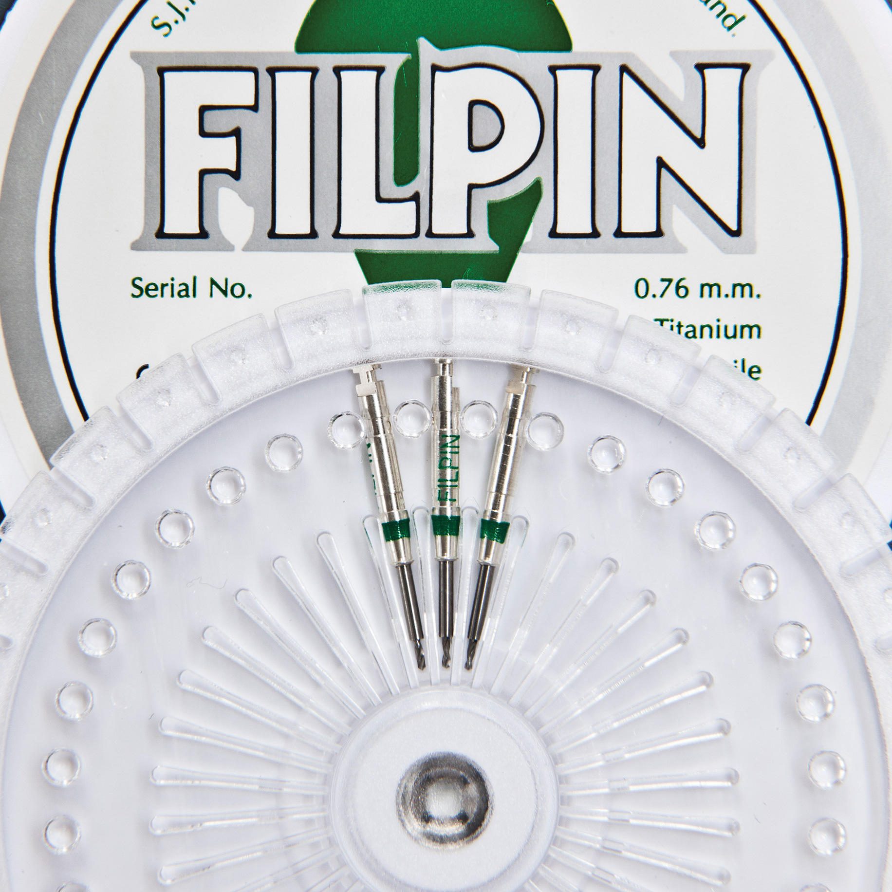 Stainless Steel Precision Drills - Filpin Drills Green 0.76mm - Medium