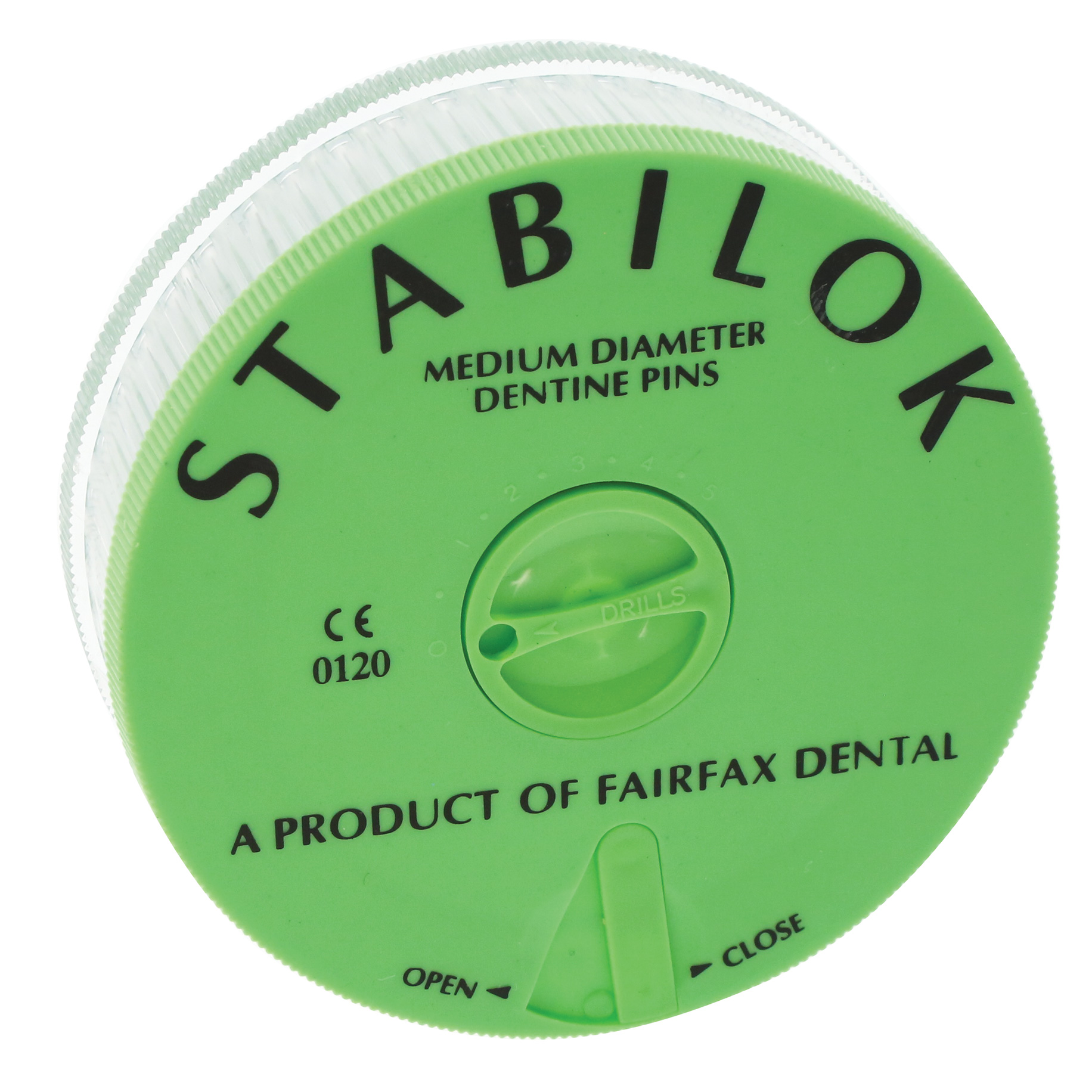Stabilok Pins Stainless Steel - Green - Medium 0.76mm