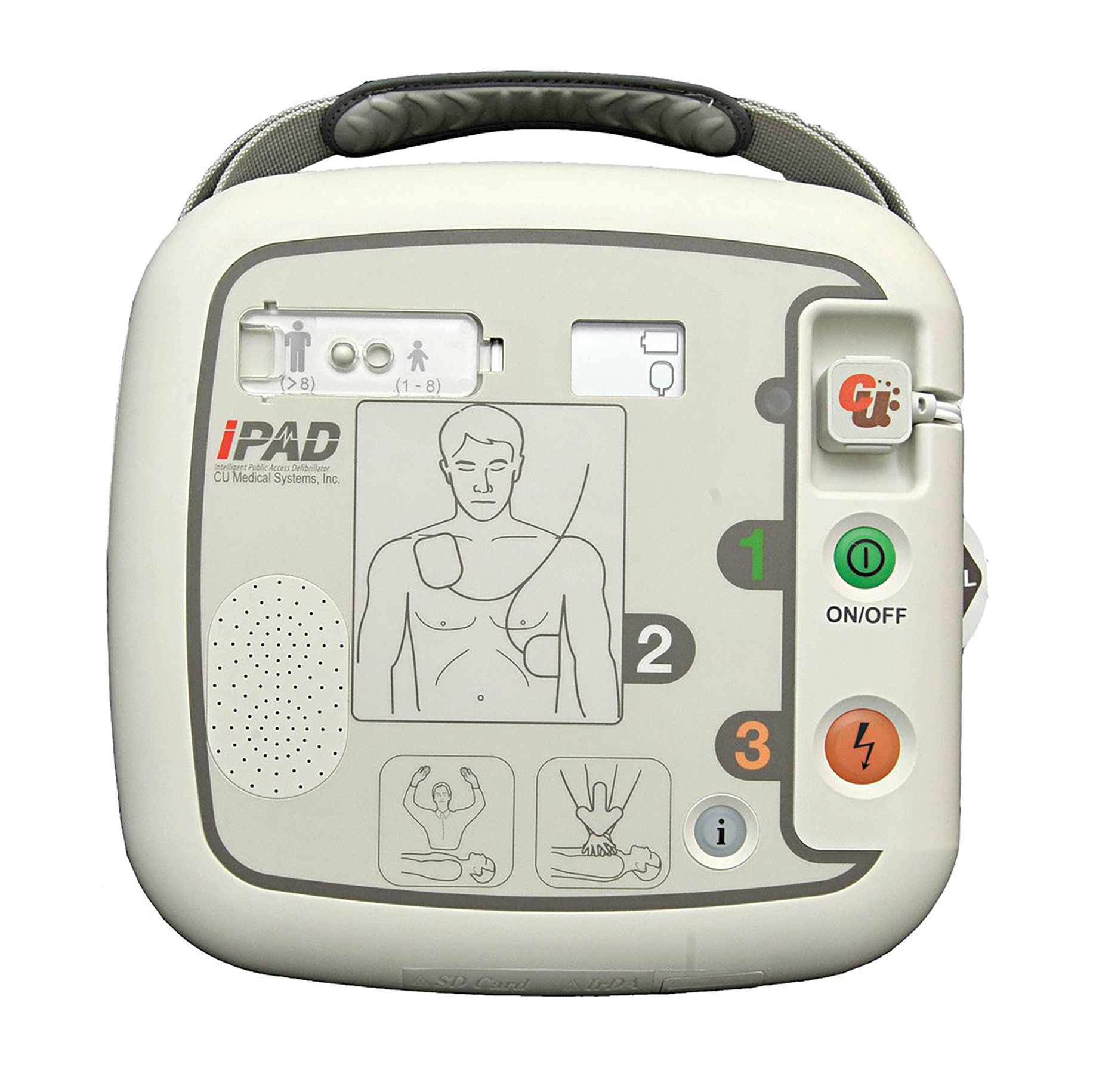 SP1 iPad Semi Auto Defibrillator