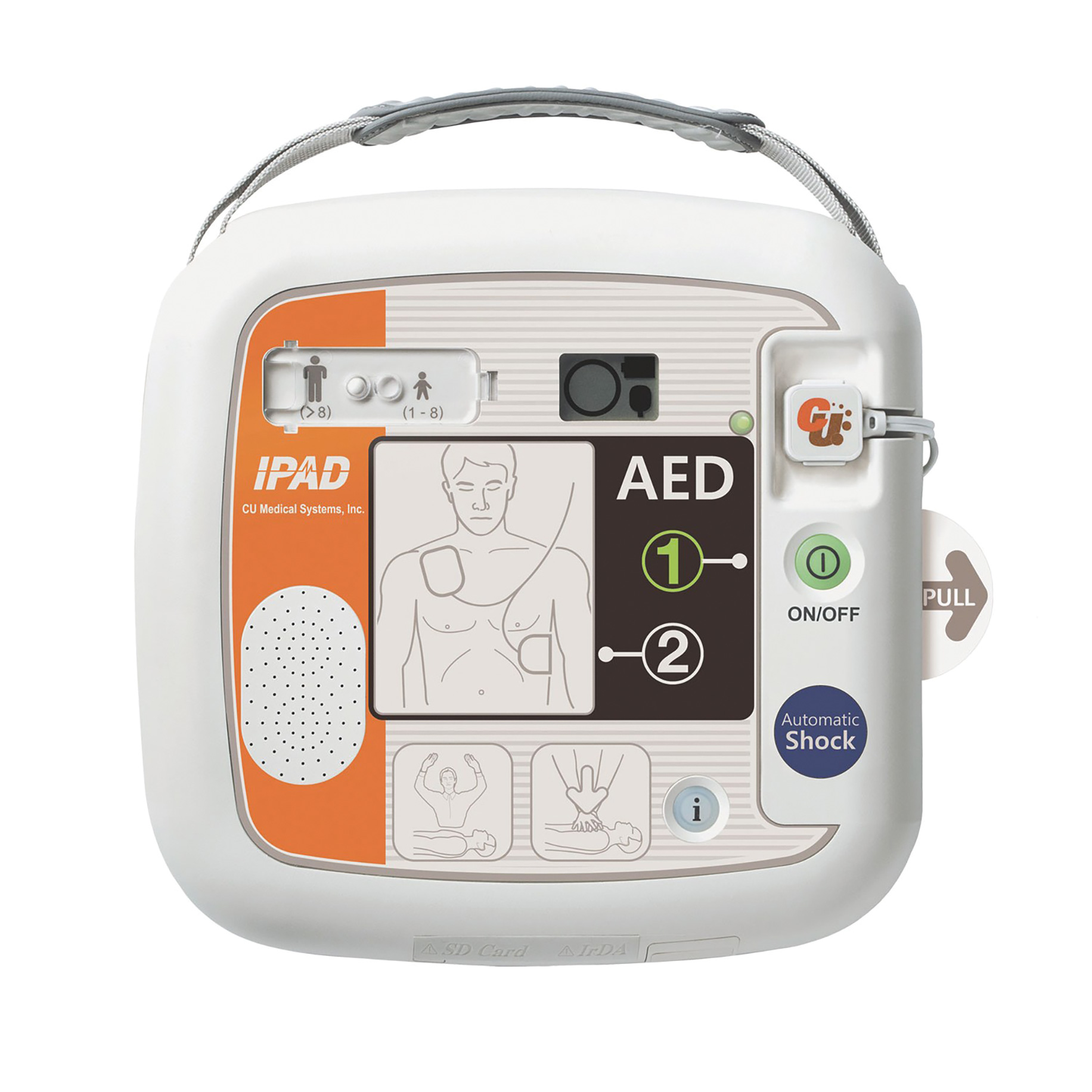 SP1 iPad Fully Auto Defibrillator