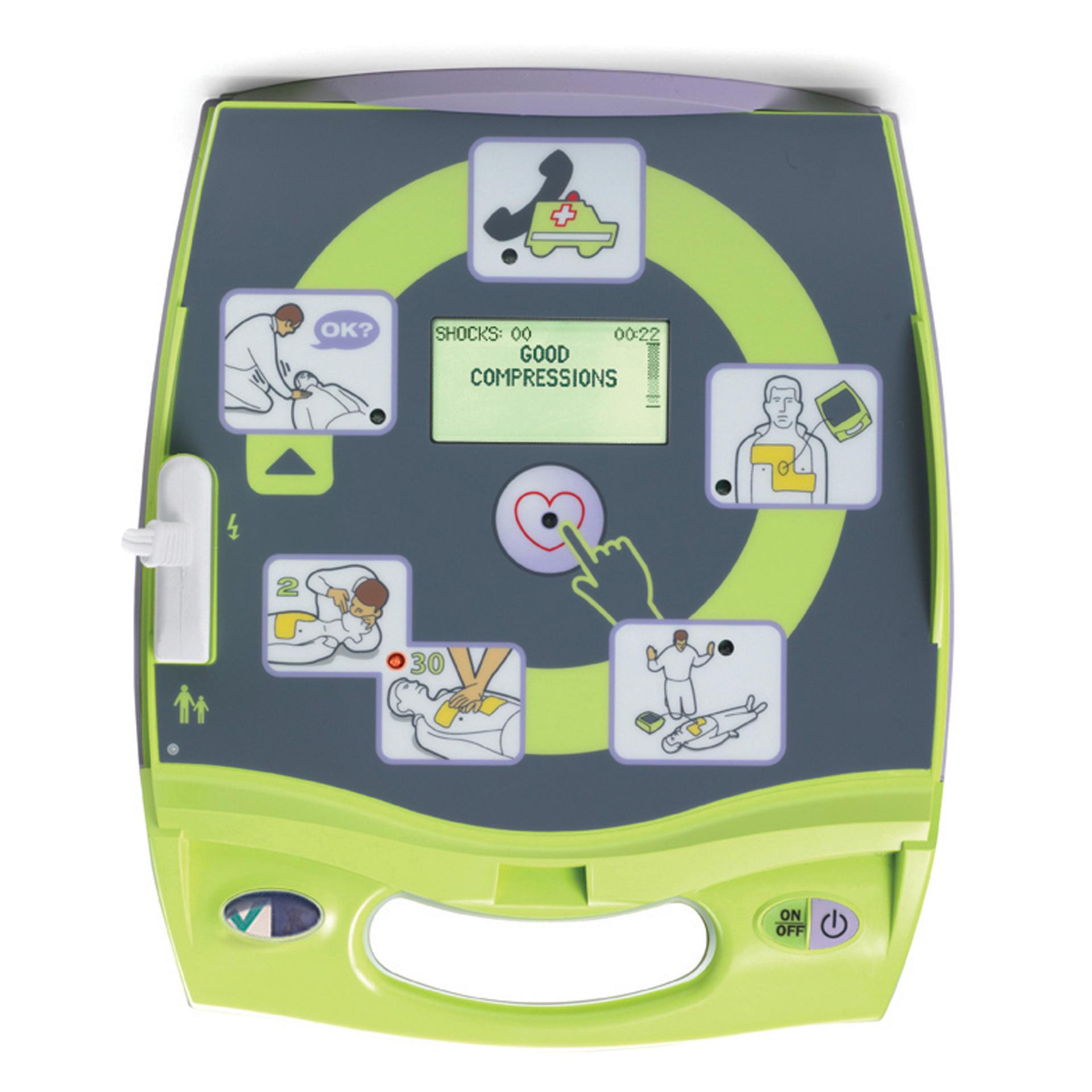 ZOLL AED Plus Defibrillator-Fully Auto