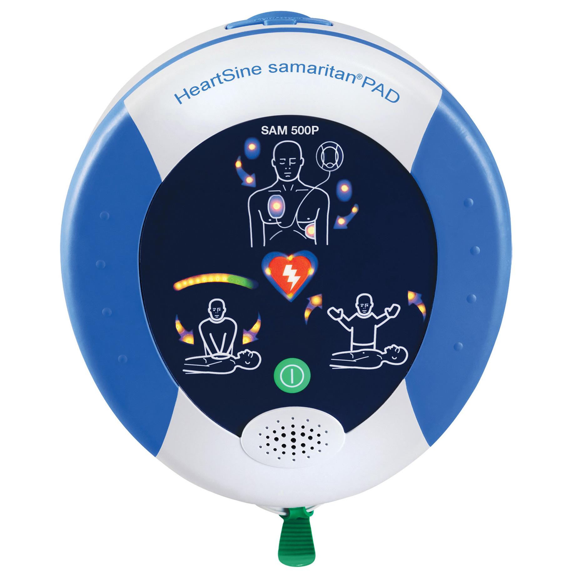 HeartSine Samaritan PAD 500P CPR Advisor